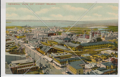 General View Of Coney Island
