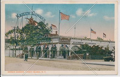 Kaiser Garden, Coney Island, N.Y.