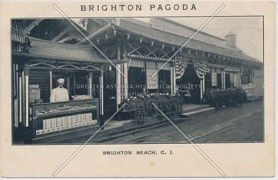 Brighton Pagoda, Brighton Beach, C.I.