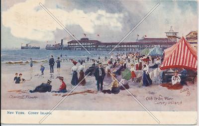 Old Iron Pier, Coney Island
