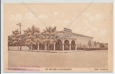 Out Side View Of Kaisergarten, Coney Island, N.Y.