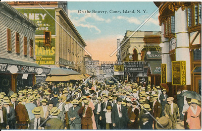 On the Bowery, Coney Island, N.Y.