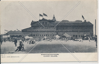 Balmer's Bathing Pavilion, Coney Island