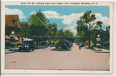 East 17 St from Foster Ave