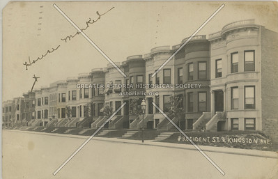 President St at Kingston Ave., Crown Heights BK