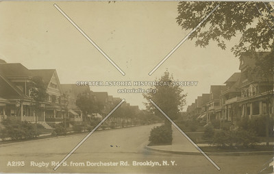 Rugby and Dorchester Rds., BK