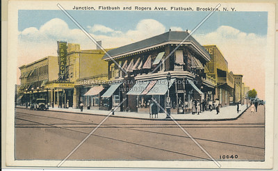 Flatbush and Rogers Aves.