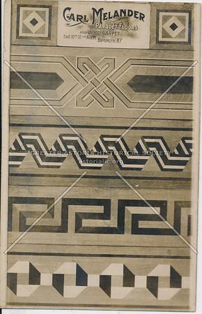 Carl Melander parquet floors