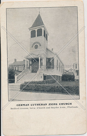 Lutheran Church, Bedford between Church and Snyder Ave