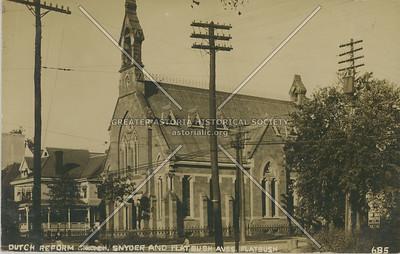 Dutch Reformed Church, Snyder and Flatbush Aves. BK