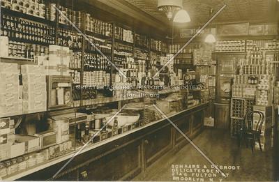 Schaars & DeBrodt delicatessen, 2146 Fulton St., BK