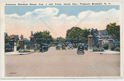 Avenue J at Coney Island Ave