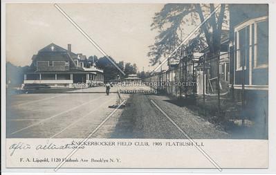 Knickerbocker Field Tennis Club, Flatbush