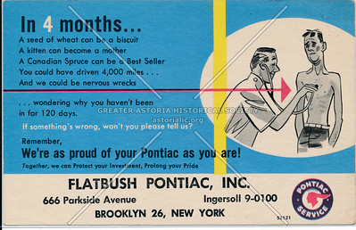 Flatbush Pontiac, 666 Parkside Ave