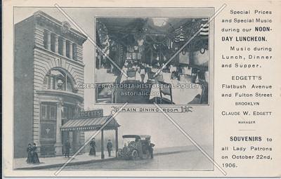 Edgett's, Flatbush Ave at Fulton Street