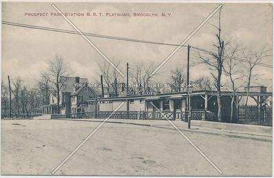 Brooklyn Rapid Transit Prospect Park station, Lincoln Rd