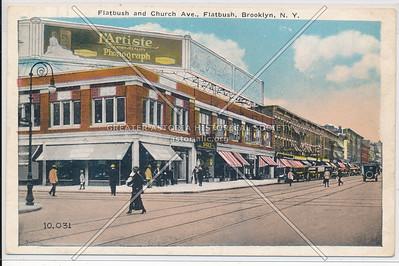 Flatbush and Church Aves.