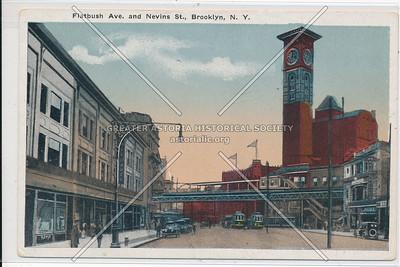 Flatbush Ave at Nevins St., downtown