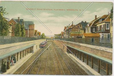 Beverly Road station, Brooklyn Rapid Transit