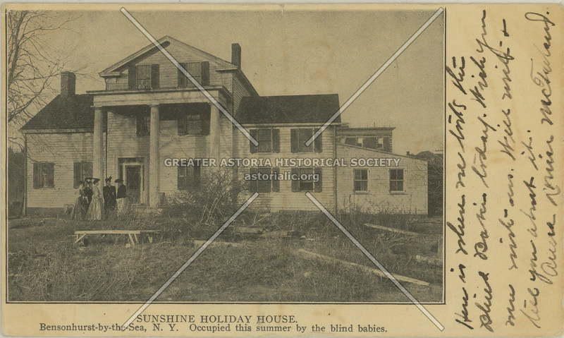 Sunshine Holiday House, Bensonhurst-by-the-Sea, N.Y.