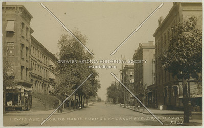 Lewis Ave., Looking North From Jefferson Ave., Brooklyn, N.Y.