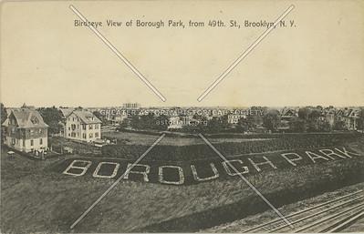 Birdseye View of Borough Park, from 49th St., Brooklyn, N.Y.
