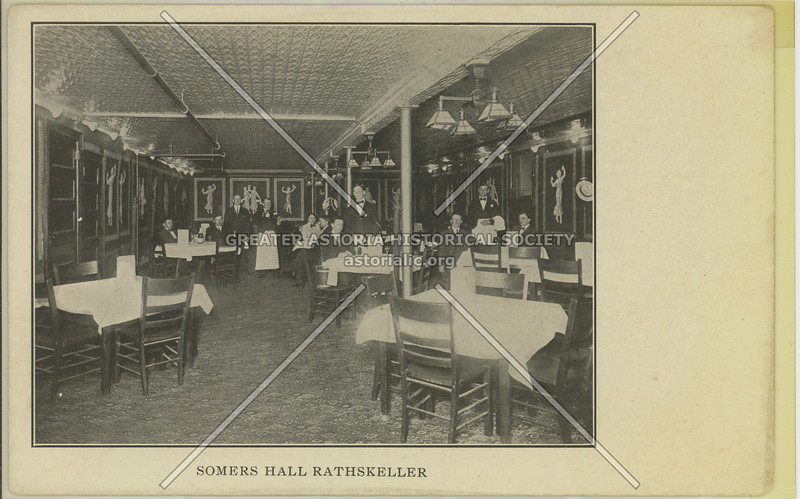 Somers Hall Rathskeller, Rockaway Ave & Summer St, Bed-Stuy
