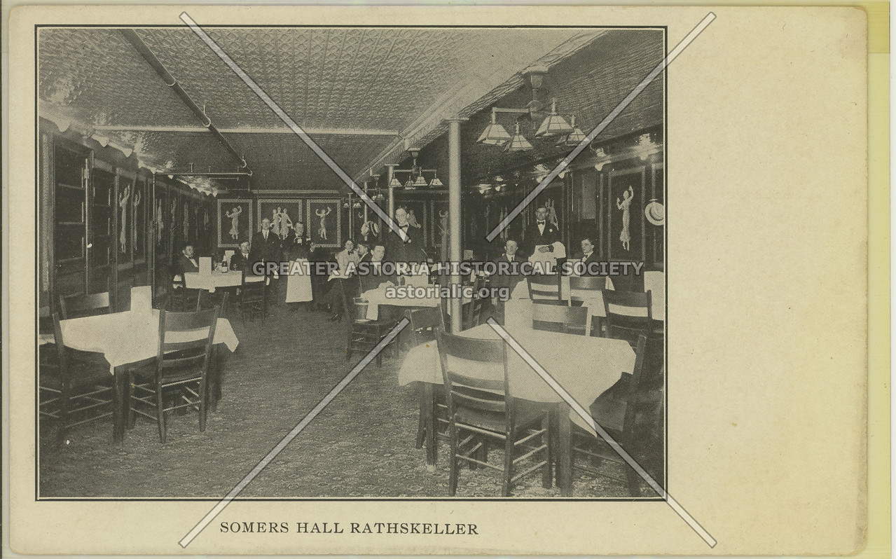 Somers Hall Rathskeller, Rockaway Ave & Summer St, Bed-Stuy