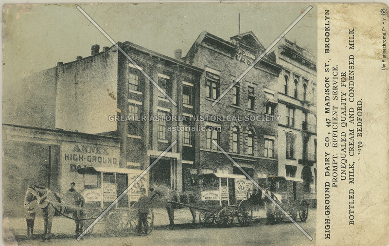 High-Group Dairy Co., 447 Madison St., Brooklyn, N.Y.