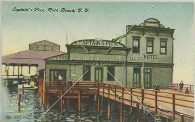Captain's Pier, Bath Beach, N.Y.
