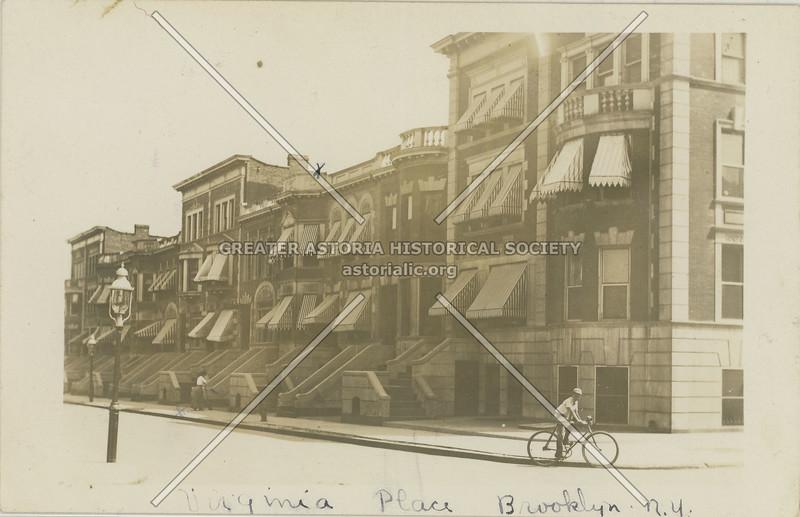 Virginia Place bewtn Kingston & Albany, Brooklyn, N.Y.