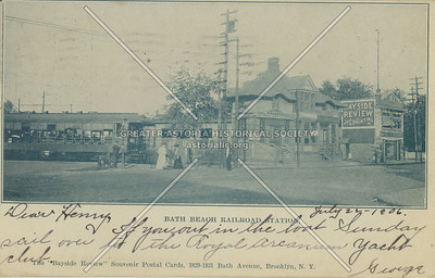 Bath Beach Railroad Station