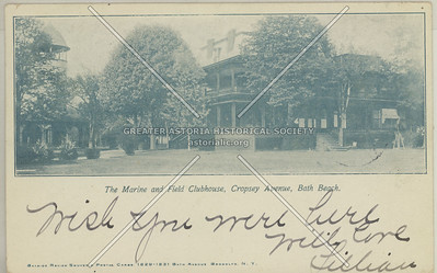The Marine and Field Clubhouse, Cropsey Avenue, Bath Beach