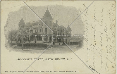 Supper's Hotel, Bath Beach, L.I.