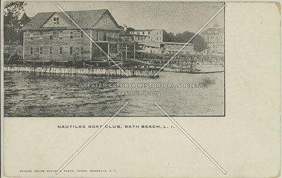 Nautila's Boat Club, Bath Beach, L.I.