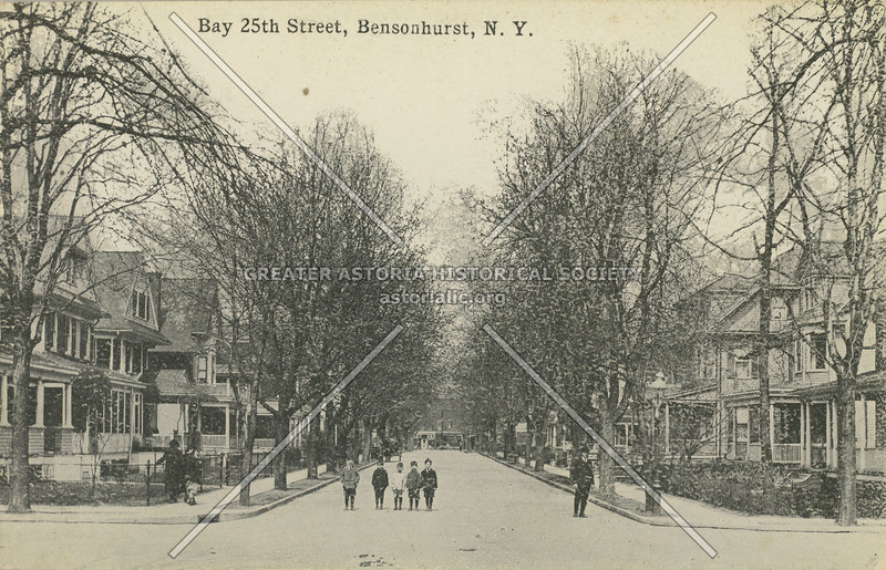Bay 25th Street, Bensonhurst, N.Y.