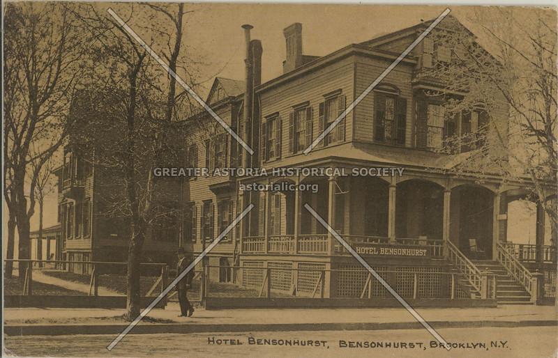 Hotel Bensonhurst, Bensonhurst, Brooklyn, N.Y.