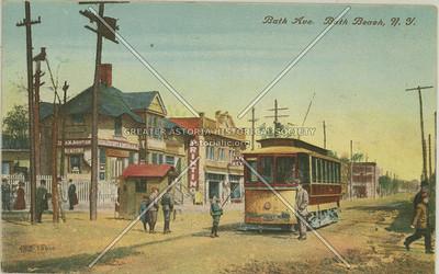 Bath Ave., Bath Beach, N.Y.