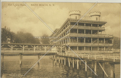 Fort Lowry Hotel, Bath Beach, N.Y.