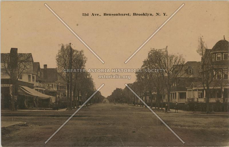 23d Ave., Bensonhurst, Brooklyn, N.Y.