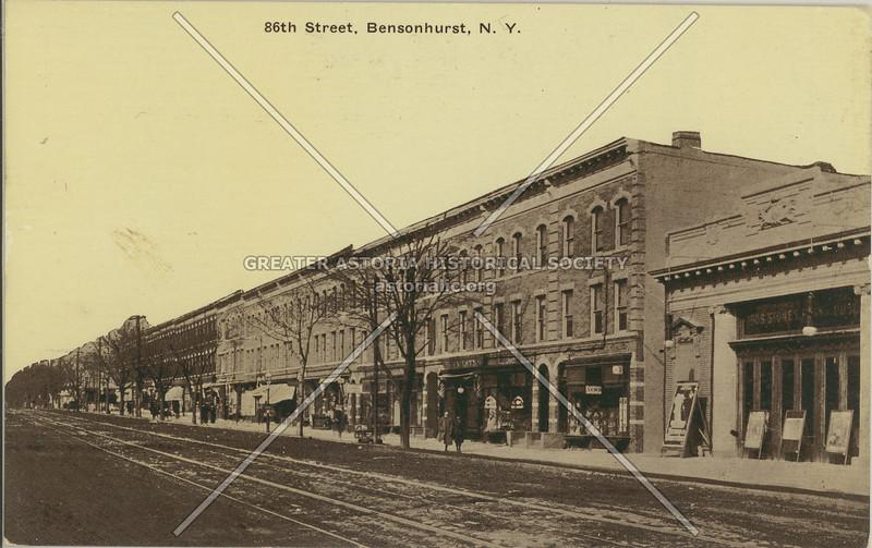 86th Street, Bensonhurst, N.Y.