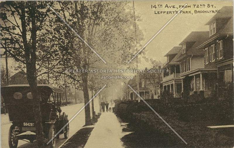 14th Ave., From 72nd St., Leffert's Park, Brooklyn, N.Y.