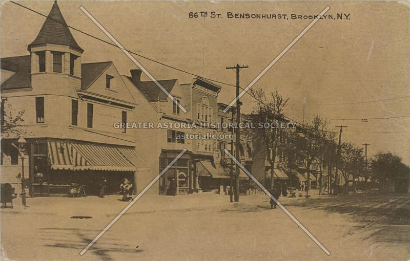 86th St. Bensonhurst, Brooklyn, N.Y.