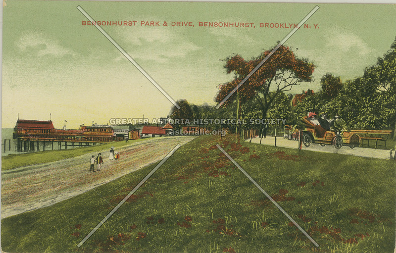 Bensonhurst Park & Drive, Bensonhurst, Brooklyn, N.Y.