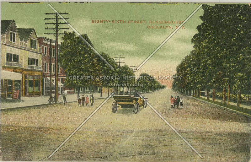 Eighty-Sixth Street, Bensonhurst, Brooklyn, N.Y.