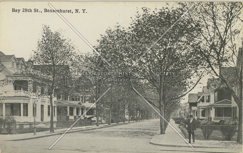Bay 28th St., Bensonhurst, N.Y.