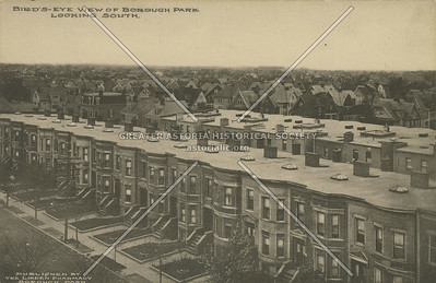 Bird's-eye View of Borough Park, Looking South