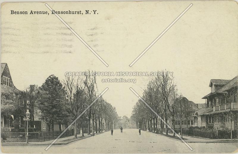 Benson Avenue, Bensonhurst, N.Y.