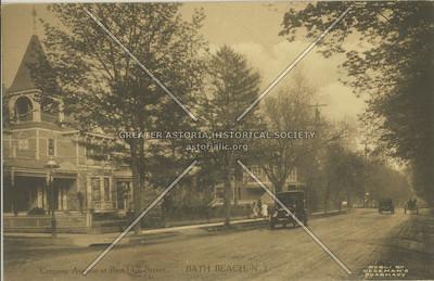 Cropsey Avenue at Bay 14th Street, Bath Beach, N.Y.