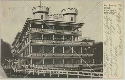 Fort Lowry Hotel, Bath Beach, L.I.